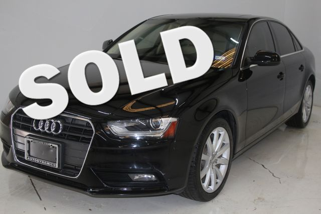 2013 Audi A4 Premium Plus Houston, Texas