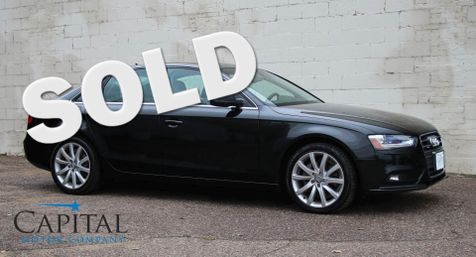 2013 Audi A4 Prestige 2.0T Quattro AWD w/Navigation, Backup Cam, Heated Seats and Bang & Olufsen Audio in Eau Claire