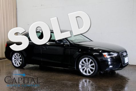 2013 Audi A4 Quattro AWD Premium Plus w/Navigation, Backup Cam, Heated Seats, Moonroof & Bang & Olufsen Audio in Eau Claire