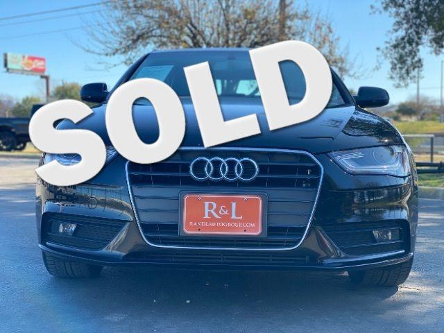 2013 Audi A4 Premium in San Antonio, TX 78233