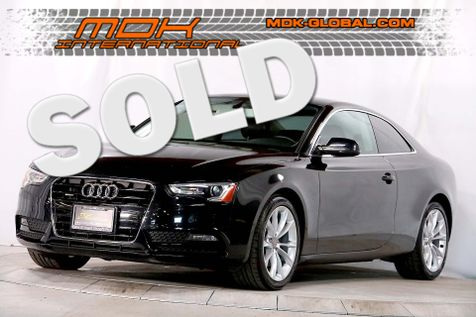 2013 Audi A5 Coupe Premium - MANUAL - Xenon headlights - Quattro in Los Angeles