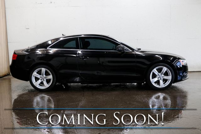 """2013 Audi A5 Premium Plus 2.0T Quattro AWD Coupe w/Nav, Backup Cam, Panoramic Roof, Heated Seats, 18"""" Rims in Eau Claire, Wisconsin 54703"""