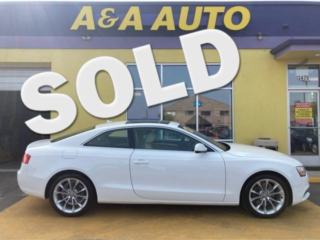 2013 Audi A5 Coupe Premium Plus in Englewood, CO 80110