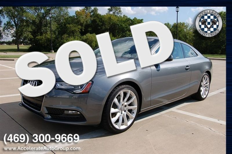 2013 Audi A5 Coupe Premium Plus CERTIFIED ONLY 13K MLS in Rowlett Texas
