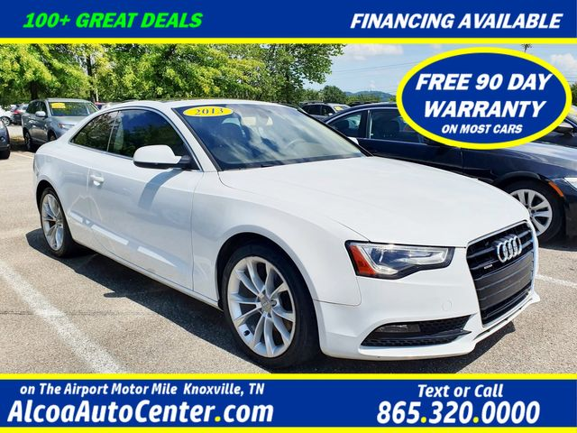 "2013 Audi A5 Coupe 2.0T quattro Premium AWD Leather/Sunroof/18"" Alloy"
