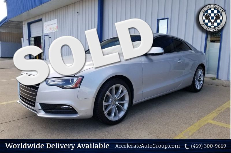 2013 Audi A5 Coupe Premium Plus in Rowlett Texas
