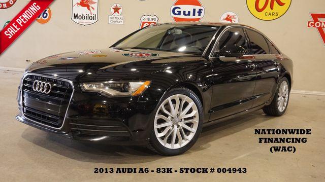 2013 Audi A6 2.0T Premium Plus SUNROOF,NAV,BACK-UP,LEATHER,83K