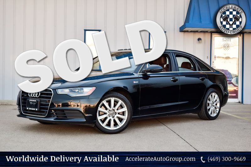 2013 Audi A6 3.0T Premium Plus in Rowlett Texas