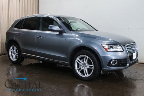 2013 Audi Q5 2.0T Premium Plus Quattro AWD w/Navigation, Backup Cam, Heated Seats & Panoramic Moonroof in Eau Claire