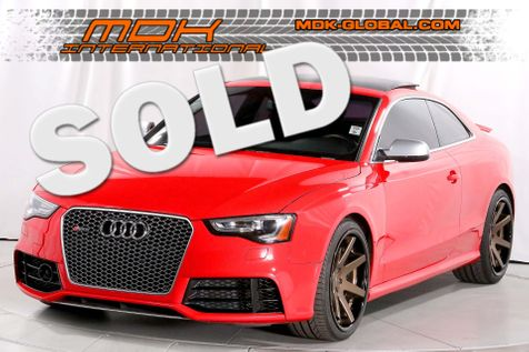 2013 Audi RS 5 Coupe - Sport exhaust - Laser cruise control in Los Angeles