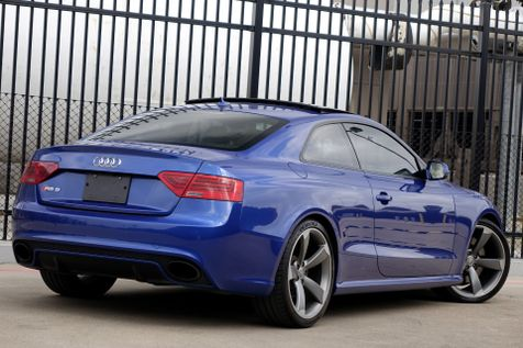 2013 Audi RS 5 Coupe AWD* Only 46k MI* 7 Sp Dual Clutch Trans* EZ Finan | Plano, TX | Carrick's Autos in Plano, TX