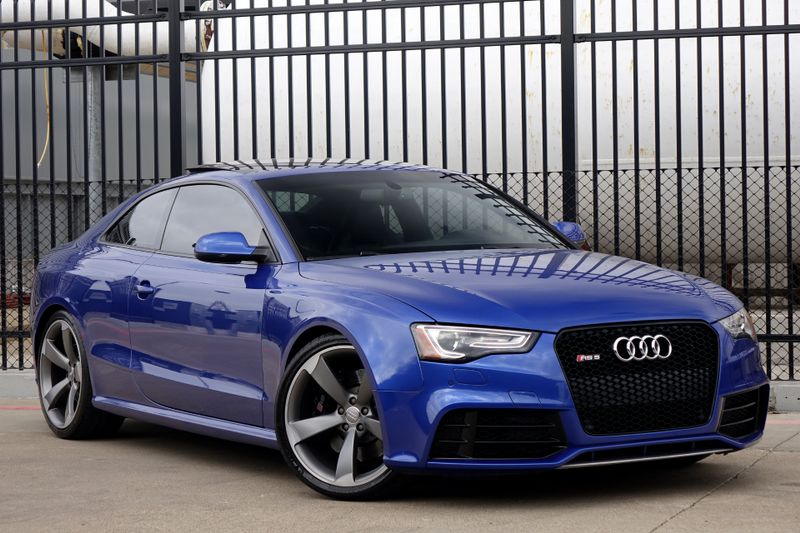 2013 Audi RS 5 Coupe AWD* Only 46k MI* 7 Sp Dual Clutch Trans* EZ Finan | Plano, TX | Carrick's Autos in Plano TX