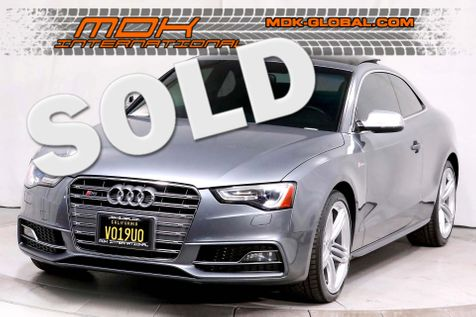 2013 Audi S5 Coupe Prestige - Service Records in Los Angeles