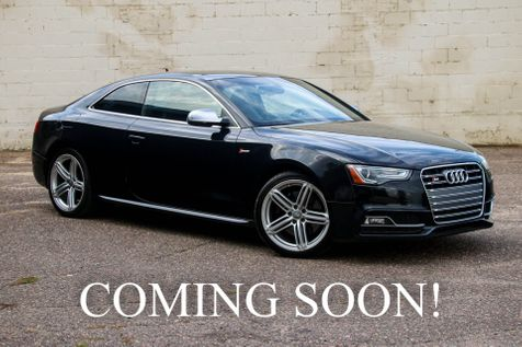 2013 Audi S5 Prestige Quattro AWD Supercharged Coupe with Navigation, B&O Audio, Panoramic Roof & 19