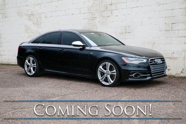 2013 Audi S6 Prestige Quattro AWD Sport-Sedan w/Night Vision Assist, Radar Cruise and B&O Premium Audio