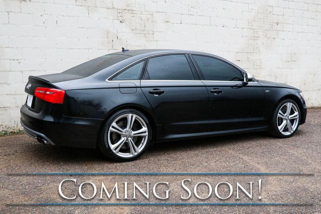 2013 Audi S6 Prestige Quattro AWD Sport-Sedan w/Night Vision Assist, Radar Cruise and B&O Premium Audio in Eau Claire, Wisconsin 54703