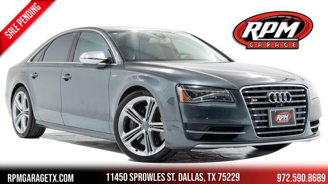 2013 Audi S8 1 Owner with a HUGE MSRP in Dallas, TX 75229
