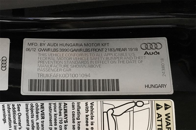 2013 Audi TT Coupe 20T Prestige  city CA  M Sport Motors  in Walnut Creek, CA
