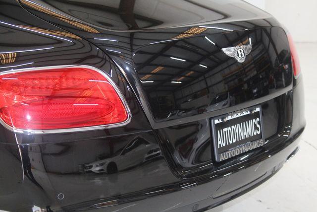 2013 Bentley Continental GT W12 Houston, Texas 14