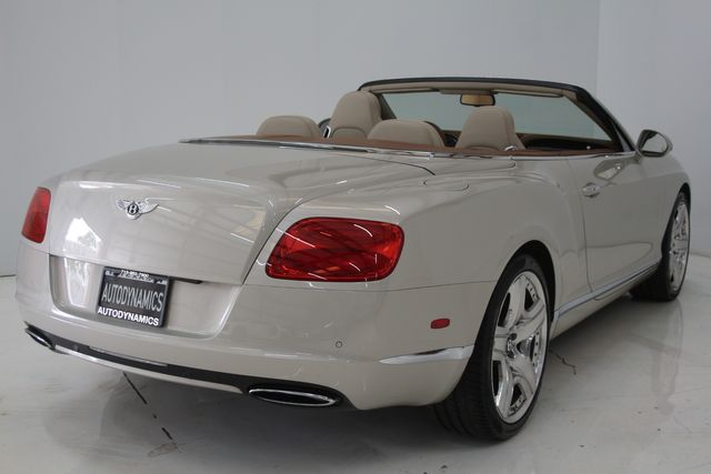 2013 Bentley Continental GTC Convertible Houston, Texas 14