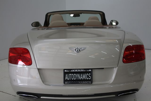 2013 Bentley Continental GTC Convertible Houston, Texas 16