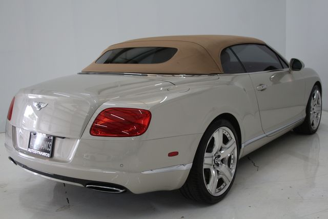 2013 Bentley Continental GTC Convertible Houston, Texas 44
