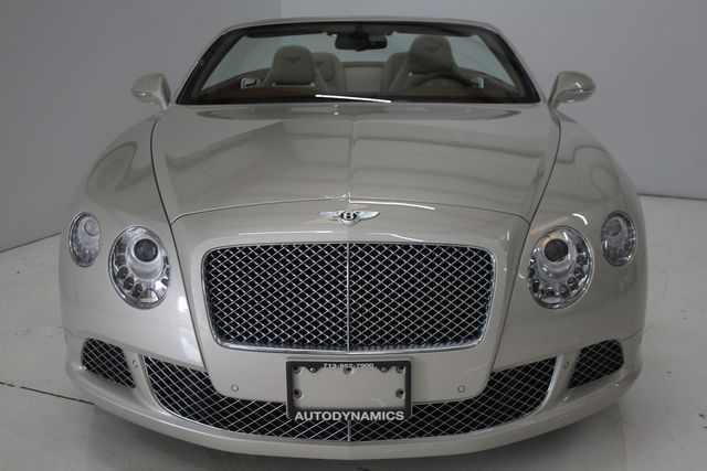 2013 Bentley Continental GTC Convertible Houston, Texas 8