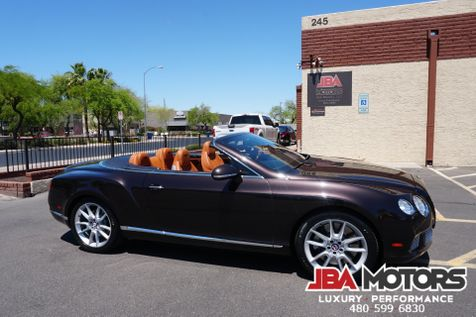 2013 Bentley Continental Gt Convertible Gtc W12 Awd Only 25k Low