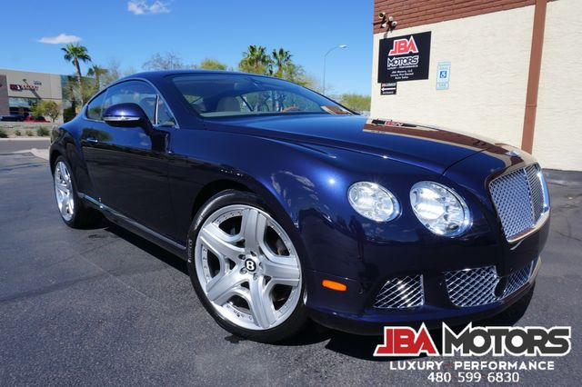 2013 Bentley Continental GT Coupe W12 Mulliner Package