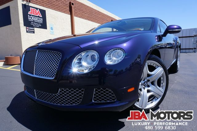 2013 Bentley Continental GT Coupe W12 Mulliner Package Clean CarFax LOW MILES