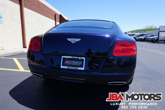 2013 Bentley Continental GT Coupe W12 Mulliner Package Clean CarFax LOW MILES in Mesa, AZ 85202