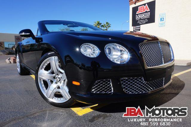 2013 Bentley Continental GT Convertible GTC Mulliner Package