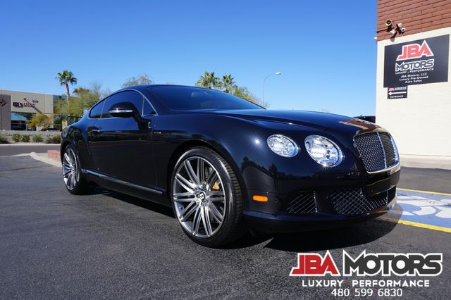 2013 Bentley Continental GT Speed Coupe AWD HUGE $228k MSRP Massage Diamond Stitch