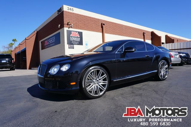 2013 Bentley Continental GT Speed Coupe AWD HUGE $228k MSRP Massage Diamond Stitch in Mesa, AZ 85202