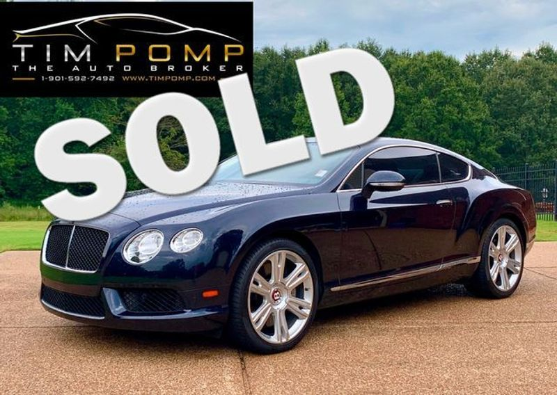 2013 Bentley Continental GT V8  | Memphis, Tennessee | Tim Pomp - The Auto Broker in Memphis Tennessee