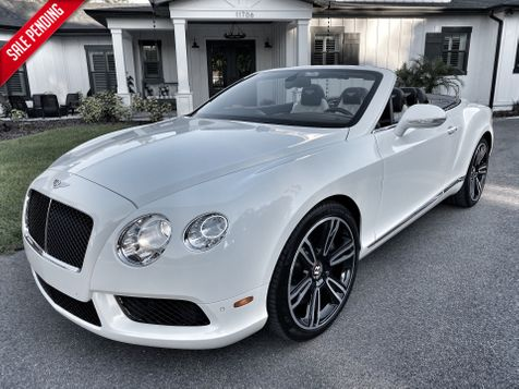 2013 Bentley Continental GT V8 TUXEDO MULLINER LEATHER CARFAX CERT  in , Florida