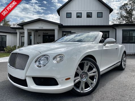 2013 Bentley Continental GT V8 GTC V8 CONVERTIBLE NECK WARMERS CARFAX CERT in , Florida
