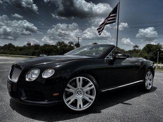 2013 Bentley Continental GT V8 GTC BELUGABELUGA CARFAX CERT SERVICED  Plant City Florida  Bayshore Automotive   in Plant City, Florida