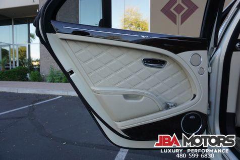 2013 Bentley Mulsanne Mulliner Pkg Rear DVD Pearl Ghost White $382k MSRP | MESA, AZ | JBA MOTORS in MESA, AZ
