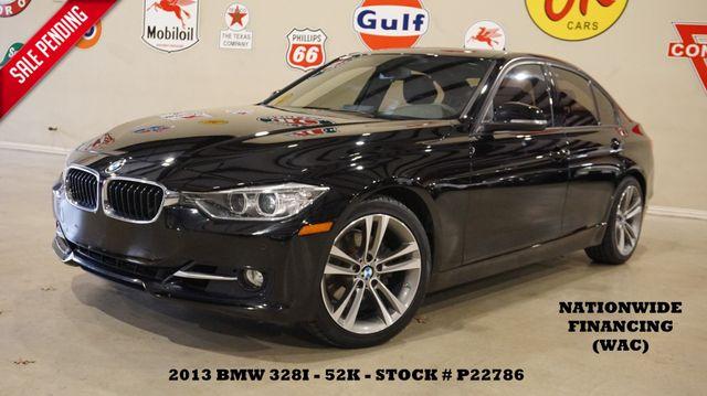 2013 BMW 328i Sedan HUD,ROOF,NAV,BACK-UP,HTD LTH,52K,WE FINANCE