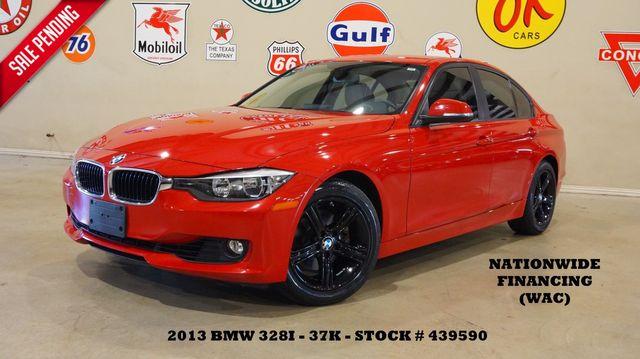 2013 BMW 328i Sedan HUD,NAV,HTD LTH,BLK WHLS,37K,WE FINANCE in Carrollton, TX 75006