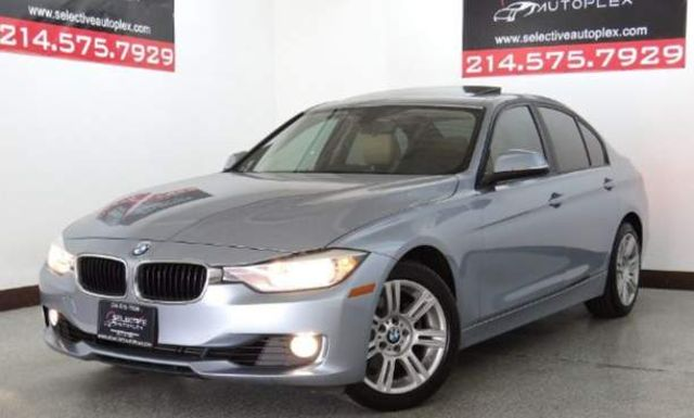 2013 BMW 328i 328i Sedan - SULEV, LEATHER SEATS, SUNROOF