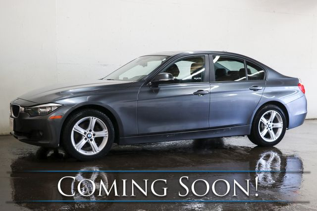 2013 BMW 328xi xDrive AWD Sport Sedan w/Moonroof, Heated Seats, Keyless Start & Bluetooth Audio
