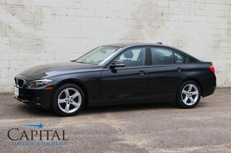 2013 BMW 328xi xDrive AWD with Heated Front/Rear Seats, Heated Steering Wheel, Moonroof and Keyless Start in Eau Claire