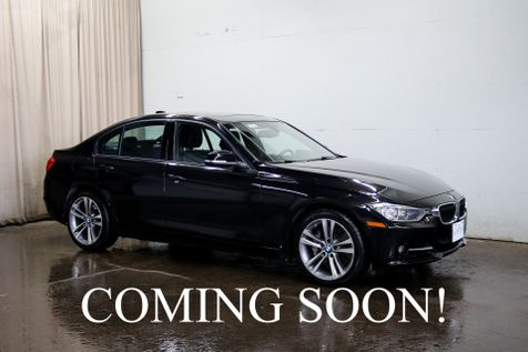 2013 BMW 335xi xDrive AWD Turbo Luxury Car w/Sport Pkg, Headup Display, Navigation and Heated F/R Seats in Eau Claire