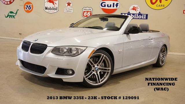 2013 BMW 335is Convertible AUTO,PWR TOP,NAV,LTH,23K,WE FINANCE