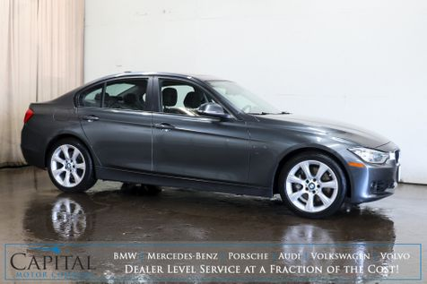 2013 BMW 335xi xDrive AWD w/Navigation, Backup Cam, Head-Up Display, Heated Seats & Bluetooth Audio in Eau Claire