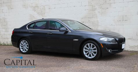 2013 BMW 528xi xDrive AWD Luxury Sport Sedan w/Navigation, Heated Seats, Keyless Start and & Bluetooth Audio in Eau Claire