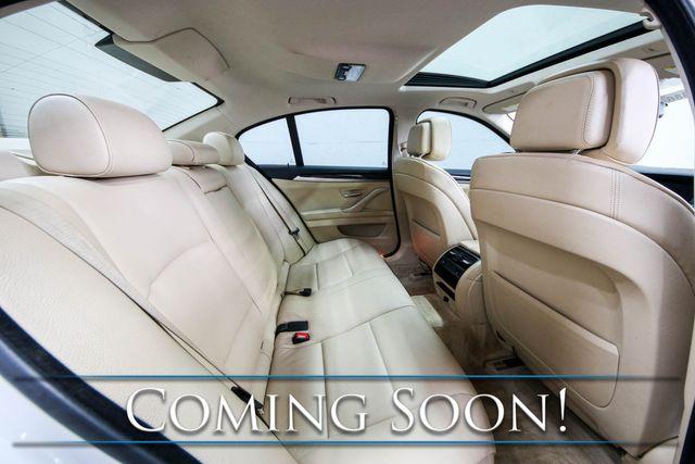 2013 BMW 535xi xDrive AWD Luxury Sedan w/Nav, Heated Steering Wheel, Heated Seats & Head-Up Display in Eau Claire, Wisconsin 54703