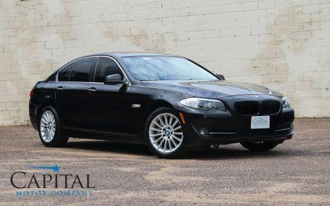 2013 BMW 535xi xDrive AWD w/Navigation, Heated F/R Seats, Moonroof, Bluetooth Audio & Head-Up Display in Eau Claire